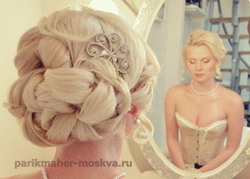 Прическа на свадьбу в Зеленограде