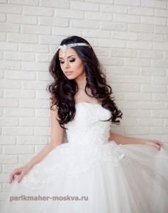 Свадебная прическа и макияж в Королеве
